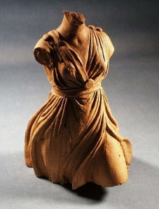 Terracotta votive of Diana left at Nemi. Photo: ©Nottingham City Museums & Galleries