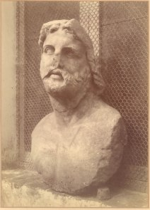 Bust of Aesculapius found at Nemi Photo: ©Nottingham City Museums & Galleries